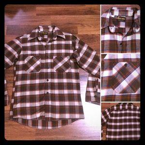 🦋2/$10 3/$15 4/$18 5/$20 Vintage 70sPlaid Flannel